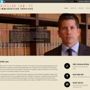 Alvillar Law Website